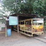 The train to the Cuero y Salado Refuge