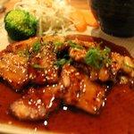 Tender melting pork belly