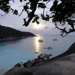 View from Sail Rock, Similans