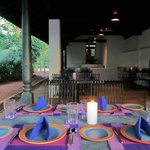 Try the delicious cuisine at 'Lavender Café' serving contemporary Sri Lankan cuisine.