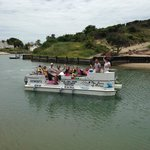 Eco cruise for learners from Union High School plus teachers