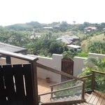 Villa Marau view towards lagoon