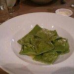 ravioli spinach