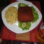 Cordon Bleu mit Kartoffelsalt