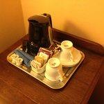 kettle con té e tisane