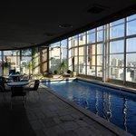 the nice swimming pool