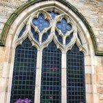 Window in the abbey.