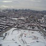 Вид на Олимпийский парк