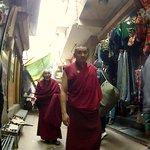 In the narrow lanes of Majnu Ka Tilla, you could run into 80 year old Palden Gyatso. He is a leg