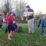 Setting off on Farm Walk