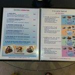 lille del af spisekort
