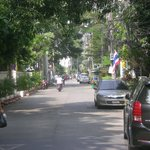 Street to the hotel, Soi 8