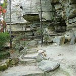 trail around the pinnacle