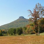 last look at Pilot Mountain heading home