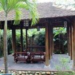 un pavillon de repos