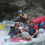 Whitewater rafting on Rio Sarapiqui