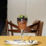 Homemade choccolate mousse