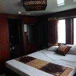 Premium cabin room - lush!