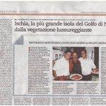 Articolo su Repubblica - Famiglia Monti