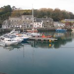 Padstow quay from room 5