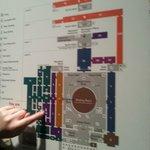 la mappa del museo