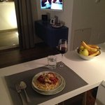 """my very first dinner cooked in Italy, """"Santo Stefano"""""""