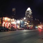 Austin Music Scene on 6th Avenue Within Walking Distance