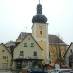 Church in Konigstein town centre