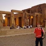 Por do sol em Kom Ombo - Aswan