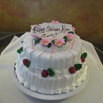 birthday cake - yum!