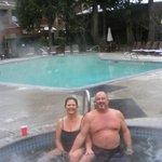 Enjoyed the Jacuzzi and pool