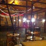 "Interior of the ""barn"""