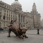 The Bund, one of many interesting stops with Harris Gu.
