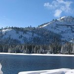 Mountain and Donner Lake