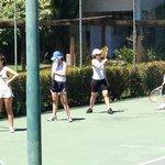 aula de tênis adulto