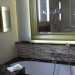 TV in bathroom. ...superior room