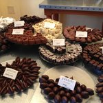 Some of the delicious chocolates