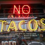 No Tacos at the Breakfast Coffee Cafe