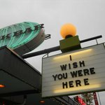 Wish you were here Snackbar