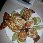 Chefs special lobster diner.  Amazing
