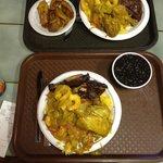 Jamaican sampler platters