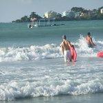 Great boogie boarding waves