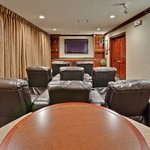 """""""Just Like Home"""" theater. Watch Blue Ray's or the big game on HD!"""