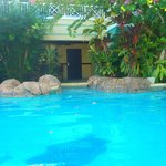 Pool outside our room