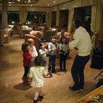baby dance dopo cena con Alessandro