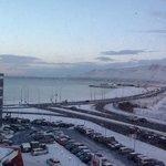 6th floor view over Faxa bay, Reykjavik