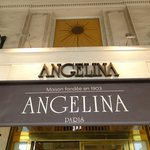 Entrada do Angelina