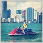 At skyline Miami