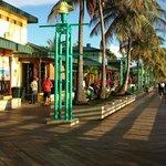 The boardwalk at Gauncha