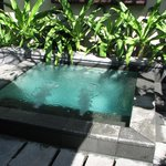 You do the Math. Indonesian temperatures and a cool soaker pool awaits.